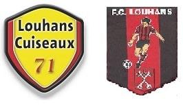 LOUHANS FC LOUHANS CUISEAUX LOGOS